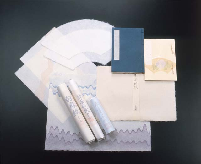 Echizen traditional Japanese paper - History