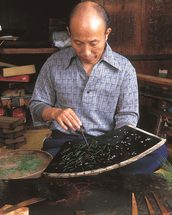Wakasa lacquerware - General Production Process