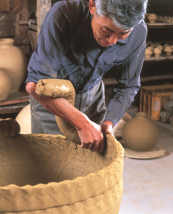 Echizen ware - General Production Process
