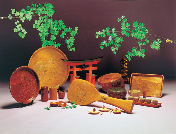 Miyajima wood crafts