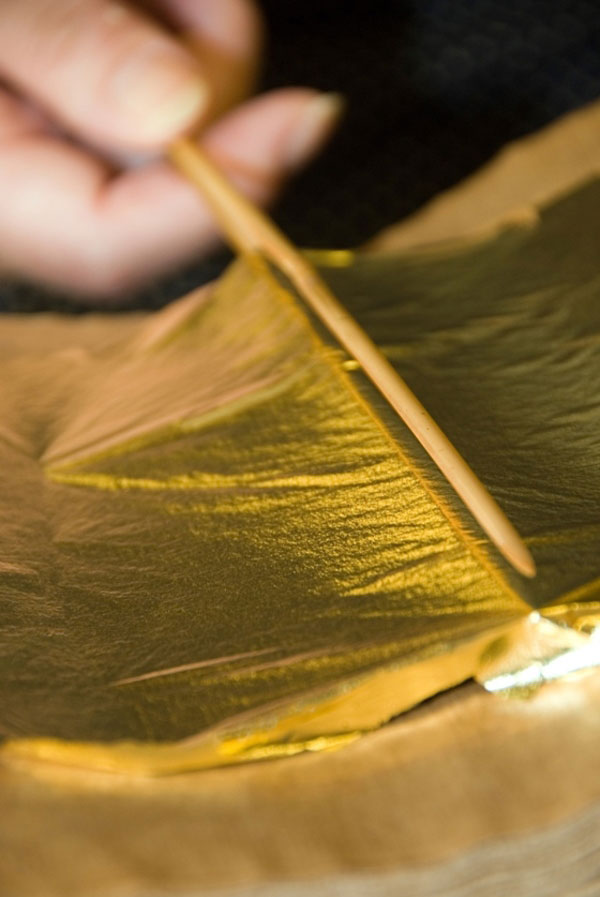 Kanazawa gold leaf - General Production Process