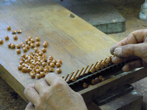 Unshu abacus - General Production Process