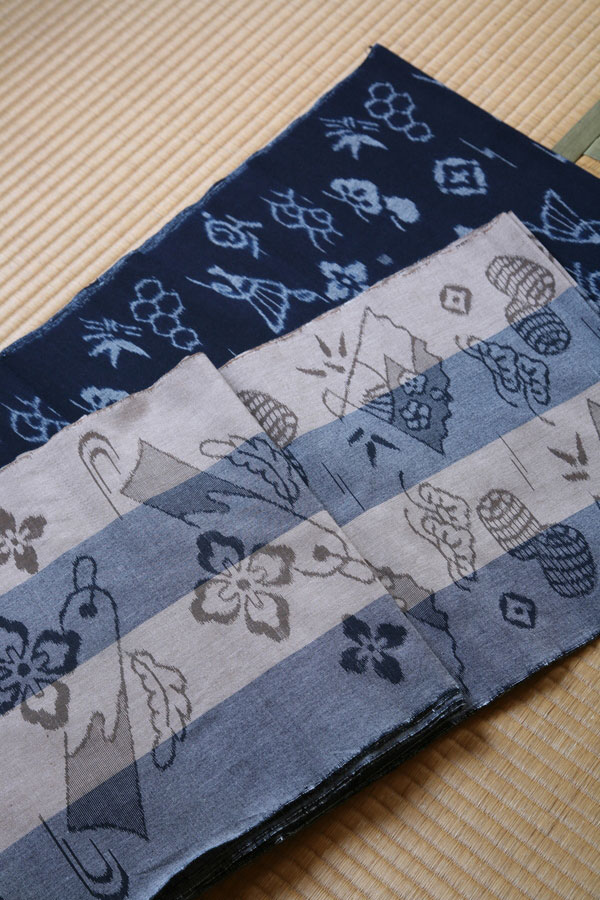 Yumihama traditional resist-dyed textiles - History