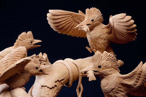 Inami wood carvings - History