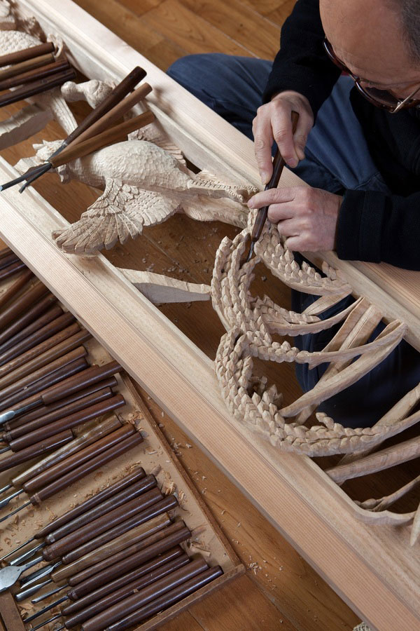 Inami wood carvings - General Production Process